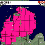 National Weather Service issues Red Flag Warning for northern Michigan