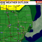 More severe weather possible today, round two